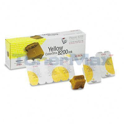 TEKTRONIX PHASER 8200 COLORSTIX INK YELLOW